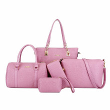 Romance and beauty customized lady hand bags set