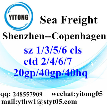 Shenzhen Sea Freight Shipping to Copenhagen