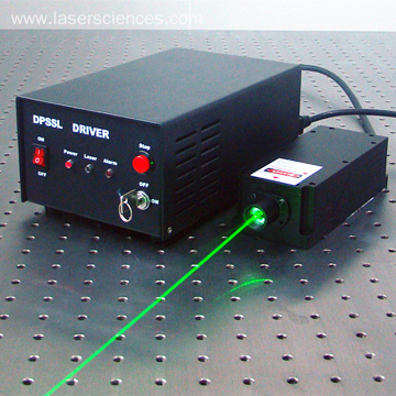 532nm Single Longitudinal Green laser For Raman