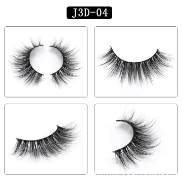 Black glossy eyelashes natural private label mink eyelashes individual eyelash extension lashes mink set