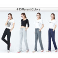 Dark blue 100%cotton blank sweatpants women Joggers Pants