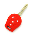 Nissan 4buttons silicone key case with logo
