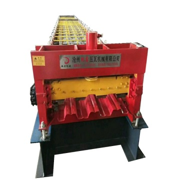 Cold Decking Floor Roll Forming Machine With PLC