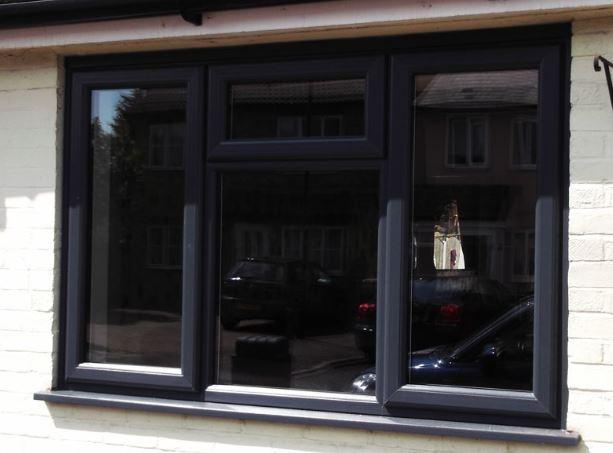 blackcolor laminated windows