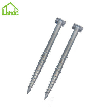 Eco-friendly galvanized ground screw for sale