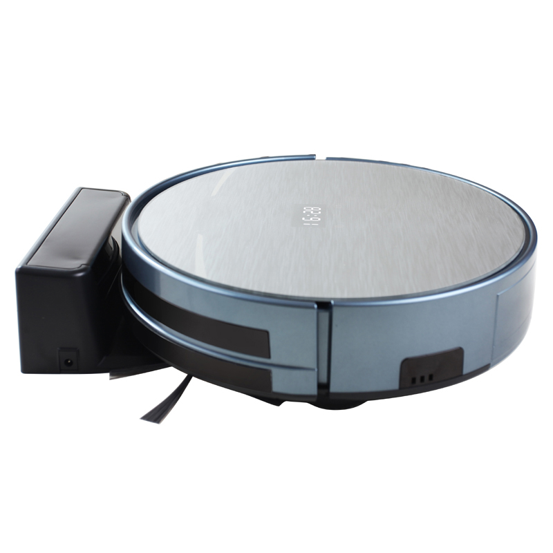 2600mah large capacity Li-ion robot vacuum cleaner