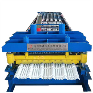 Hot sale 840 glazed steel machine