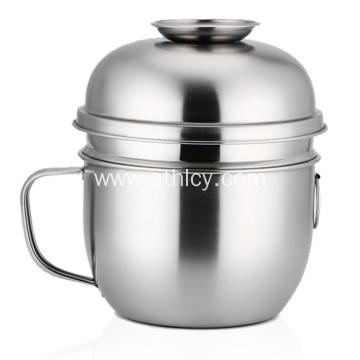 High Quality Stainless Steel Snack Cup Food Container