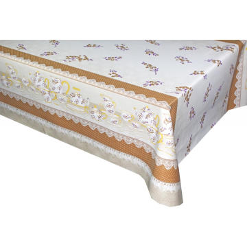 Elegant Tablecloth with Non woven backing Banquet
