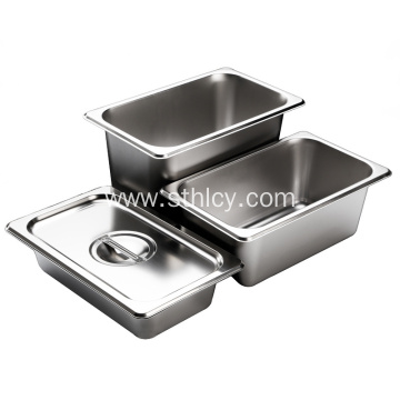 Hotel Restaurant Buffet Stainless Steel Container