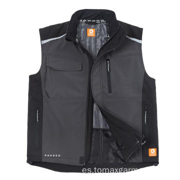 Softshell Bodywarmer Impermeable y transpirable. Chaleco transpirable.