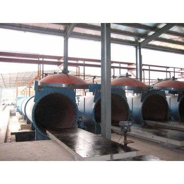 Saturated Steam AAC Autoclave High Temperature