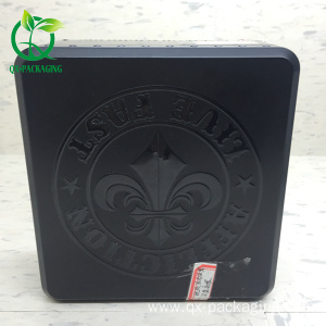 Custom print cardboard tinplate cosmetic perfume box