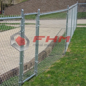 Chain link fence gate for Adjustable Single Walk
