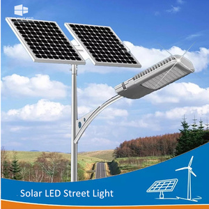 Customized for Solar Post Street Light DELIGHT 30W Automatic Solar Street Light System export to Canada Exporter