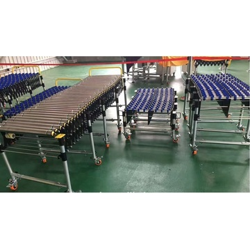 Free Roller Conveyors Assembly Line For Production Line