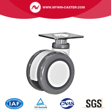 Plate Swivel Medical Caster
