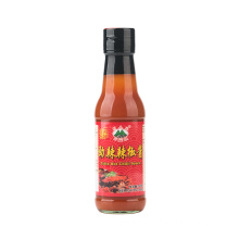 160g Glass Bottle Extra Hot Chilli Sauce