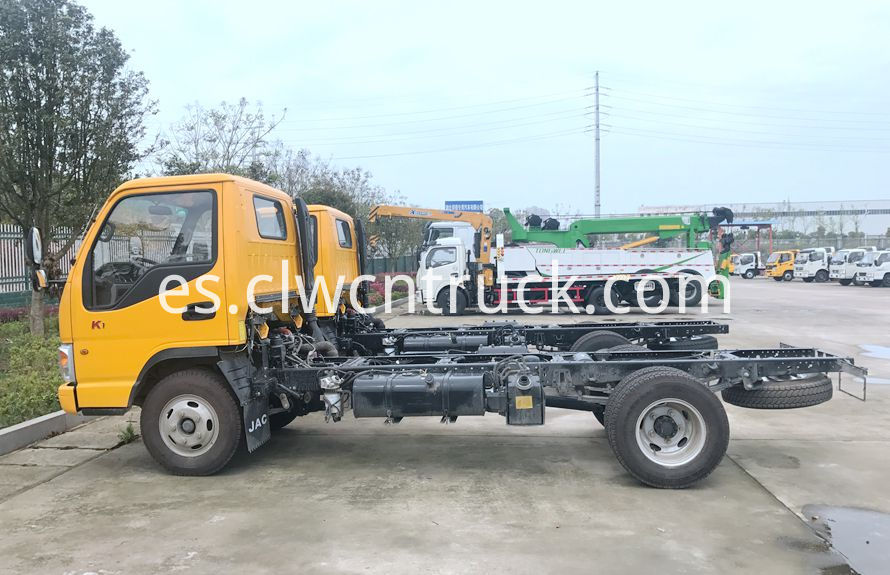 wheel lift towing vehicles chassis 2
