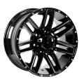 High Load Truck Wheel Flat Black 20x9