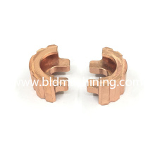 CNC Milling Machining Copper Components