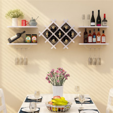 Wholesale Price for Wooden Shelf Stereoscopic Wooden Wine Shelf Hanging export to Egypt Factory
