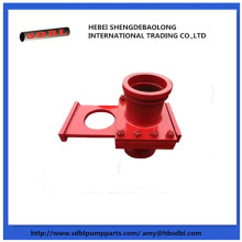 concrete pump parts manual shut off valve