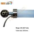 DMX 3D Star Falling Tube Light