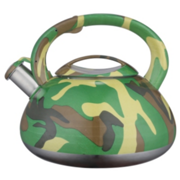 2.5L color painting decal whistling teakettle