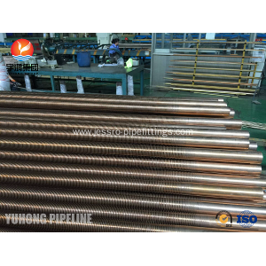 Popular Design for  Copper Nickel 90/10 SB111 C70600-061 Low Fin Tube supply to Mexico Exporter