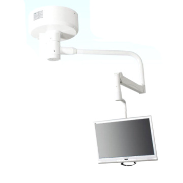 Hospital monitor mechanical arm support