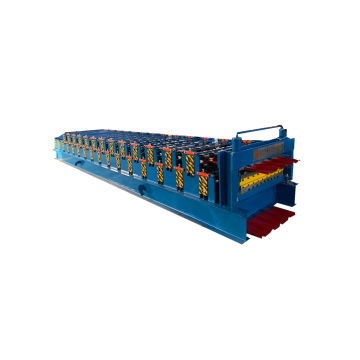 Color Trapezoidal Shape Steel Roll Forming Making Machine