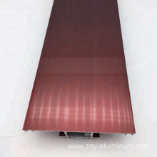 High Quality for Extruded Aluminum Profile Thermal Break Door Electrophoresis Aluminum Profile supply to Virgin Islands (U.S.) Factories