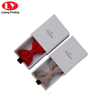 White Cardboard Bow Tie Gift Boxes