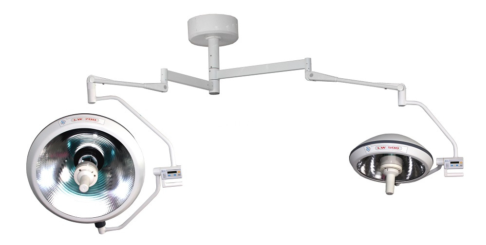 Double Dome Halogen Surgical Operation Lamp CreLite 700/500