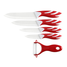 6 pieces ceramic knife set