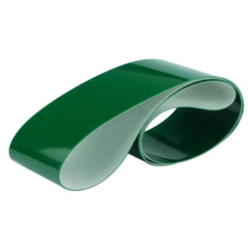 5mm Green PVC Belt Rough Top