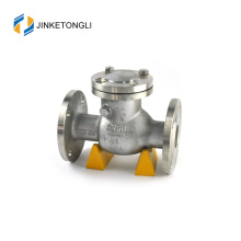 JKTLPC064 water hydraulic stainless steel flow control angle check valve