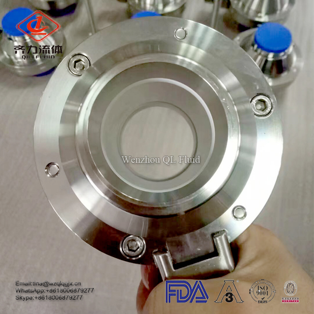 Sanitary Stainless Steel Butterfly Ball Valves