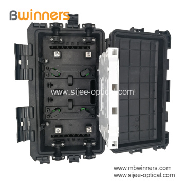 2 Input 2 Output Fiber Optic Splice Enclosure