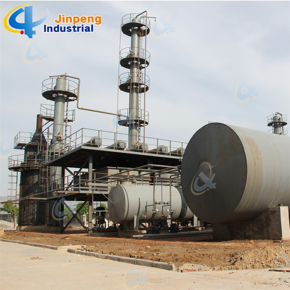 Continuous Waste Lub Oil Recycling Machine