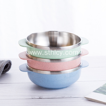 Household Anti-Scalding Double Insulated Soup Bowl
