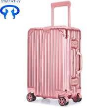 Customized all-aluminum suitcase with boarding box