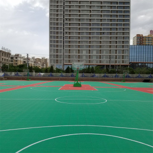Pp Interlocking Outdoor Sports Flooring