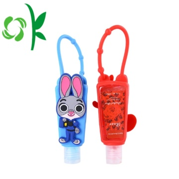 Mini Refillable Silicone Bath Body Sanitizer Holders