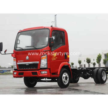 SINOTRUK HOWO Light Duty Cargo Trucks 8 Ton