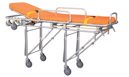 Hospital Aluminum Alloy Multifunction Ambulance Stretcher
