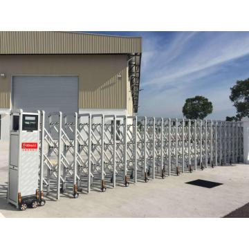 Electric Stainless Steel Retractable Folding Gate