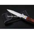 Bolster Pakka Wood Handle Folding Pocket Knife