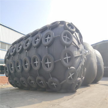 Pneumatic Rubber Fender Called Yokohama Type Fender 2 x 3.5m 50 kpa